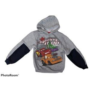 Disney Pixar Cars Hoodie Size 7
